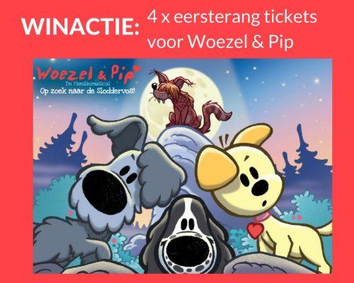 """Giveaway: 4x tickets for Woezel & Pip """"op zoek naar de Sloddervos"""" (closed)"""
