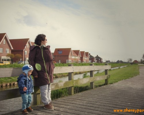 Review Liliputi babywearing mama coat